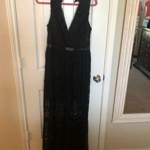 BRAND NEW Black Lace Dress